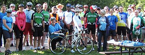 Ride to Farm 2012 riders