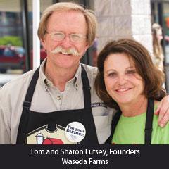 Tom and Sharon Lutsey, Waseda Farms