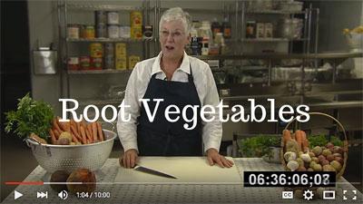 root vegetable video link