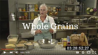 whole grains video link
