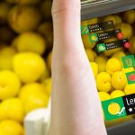 smartphone showing the price of lemons
