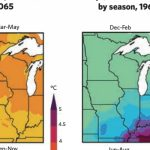 Climate maps of the midwest